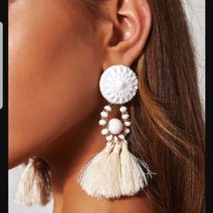 NWT tassel earrings zara